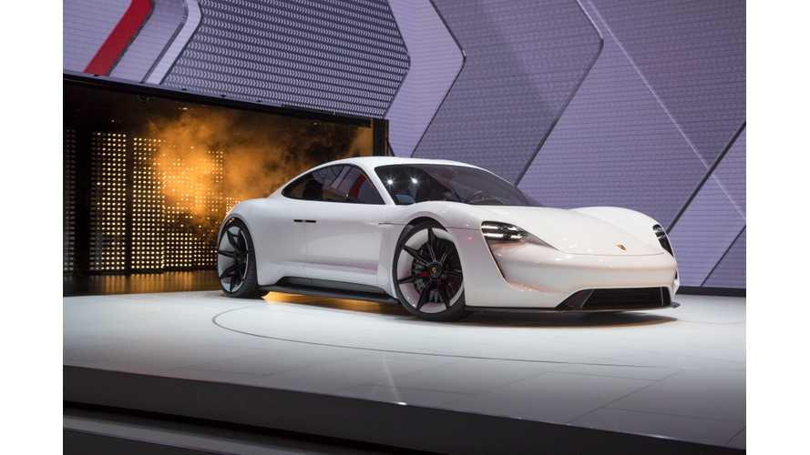 Porsche Expects Mission E Sales To Be 20,000 Units Annually