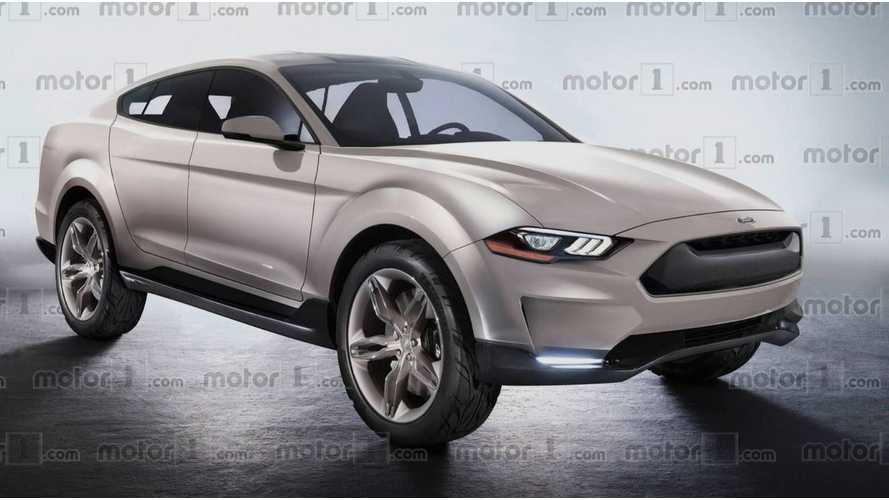 Ford Confirms Mustang-Inspired Electric SUV Goes 370 Miles Per Charge