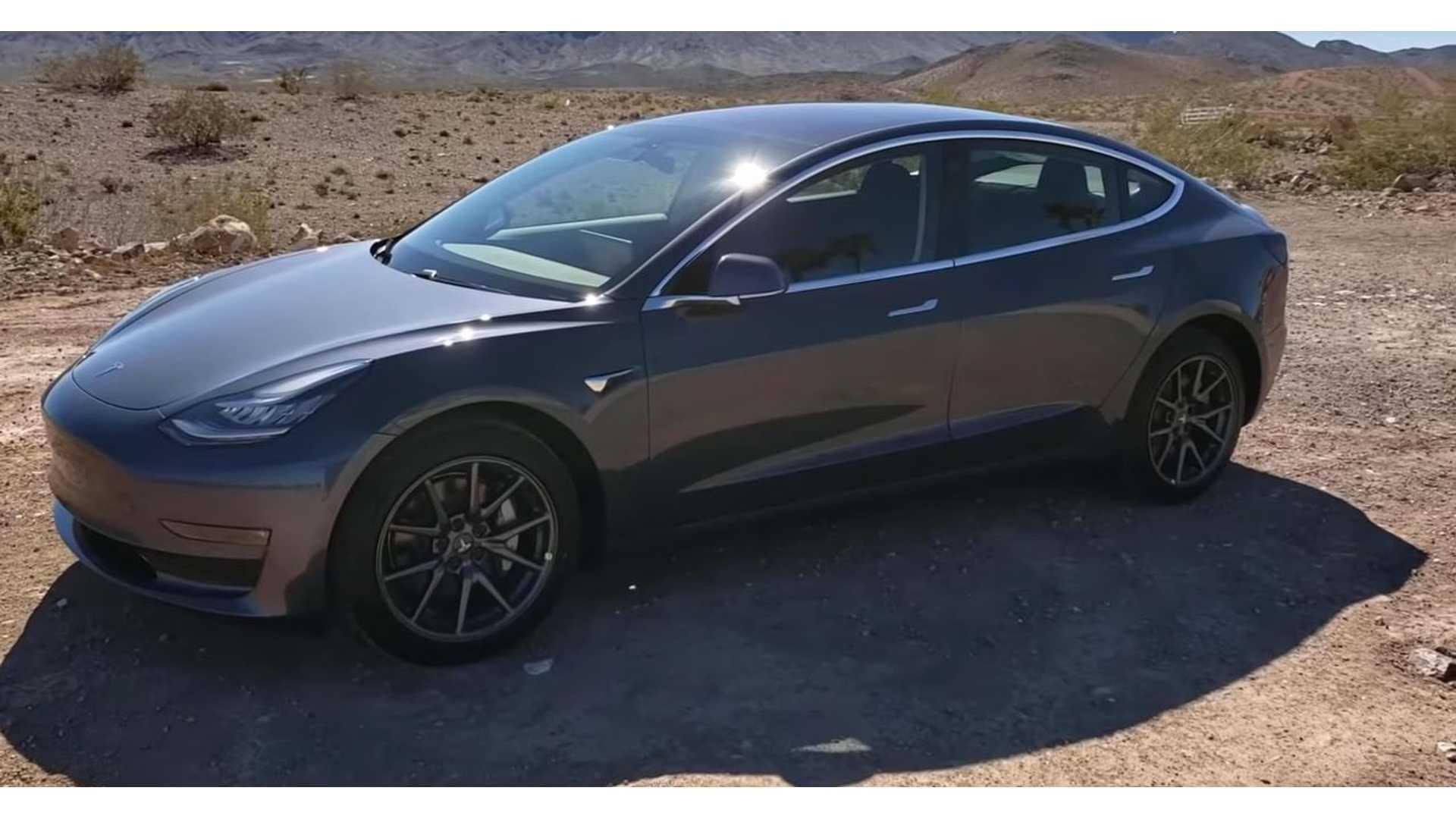 Concise Video Tour Of Tesla Model 3 Standard Range Plus
