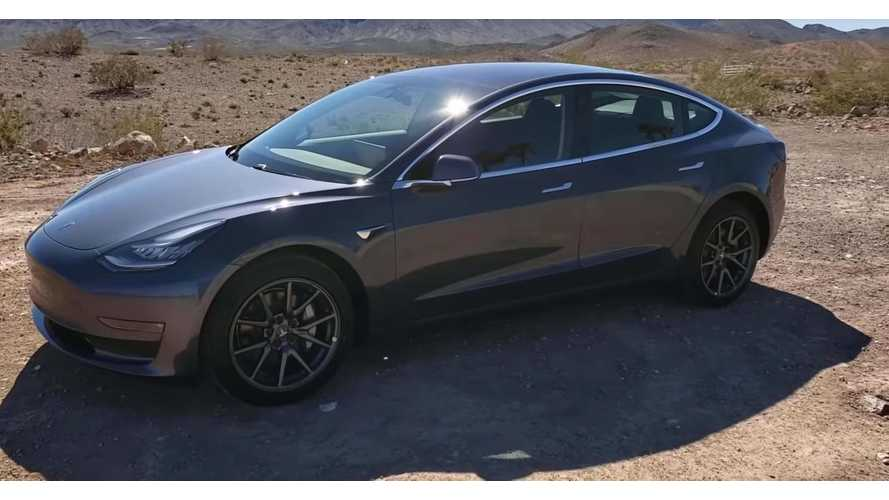 Concise Video Tour Of Tesla Model 3 Standard Range Plus