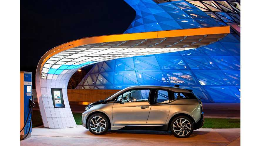 EIGHT Unveils Stylish BMW i3, BMW i8 Solar Charger