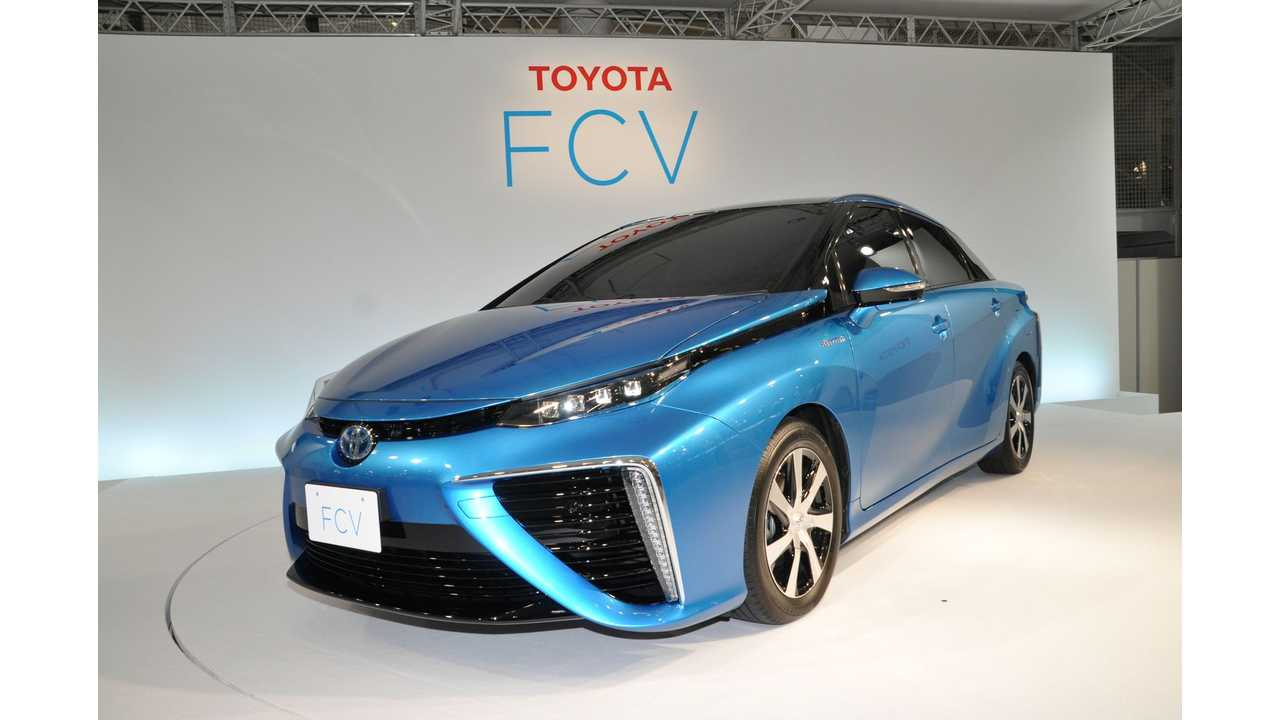 Toyota Begs NHTSA For Safety Exemption For Fuel Cell Sedan