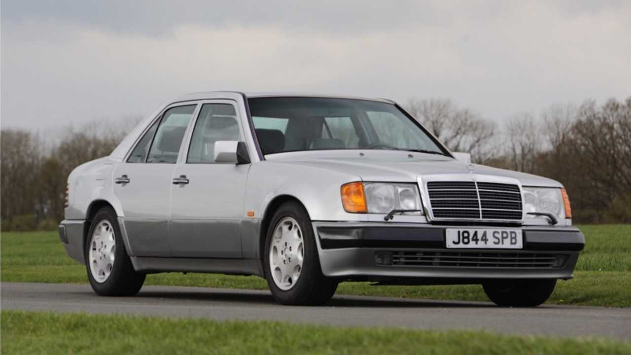 1991 Mercedes 500 E Rowan Atkinson