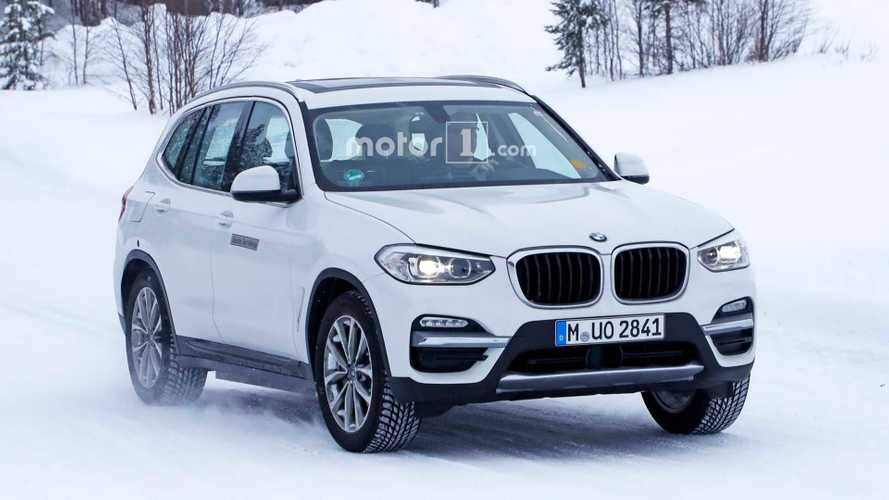 BMW iX3 Electric Spied With New Fascia