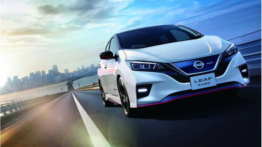Watch New Nissan LEAF NISMO Out On The Test Track