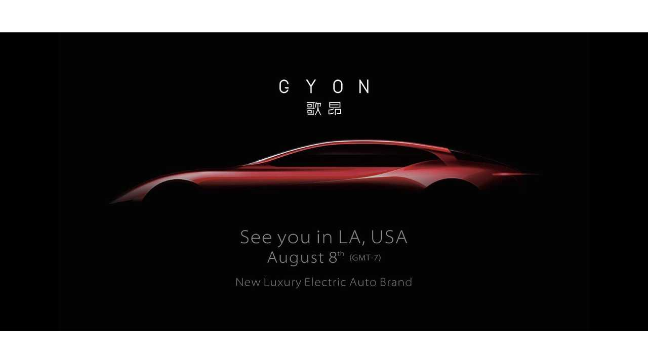 FAW To Launch Luxury EV Brand Gyon In LA This Month