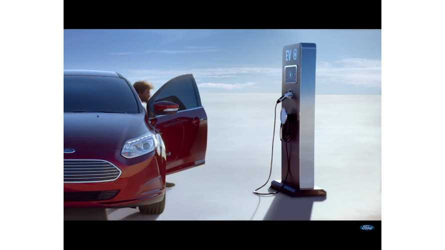 Look Who's Back:  Ford Gives The Focus Electric An Ad Spot! - Video