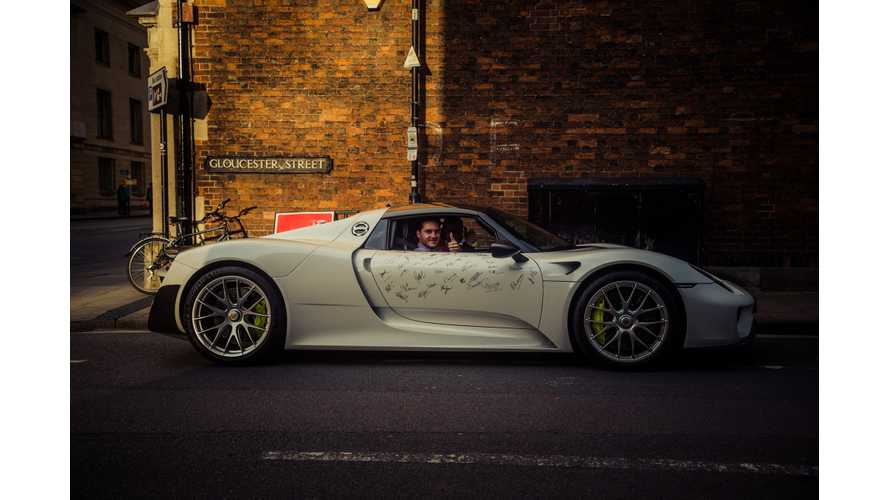 Porsche 918 Spyder Productions Comes To An End