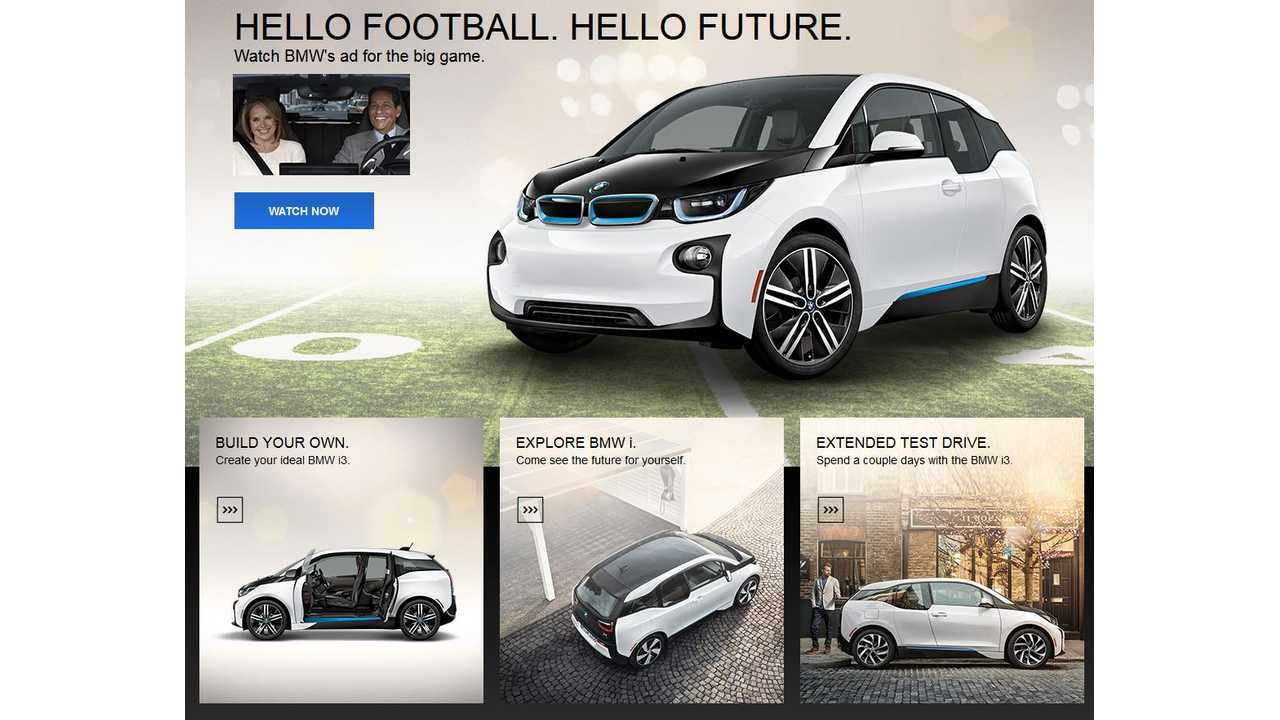 BMW i3 Super Bowl Commercial Gets Positive Reactions