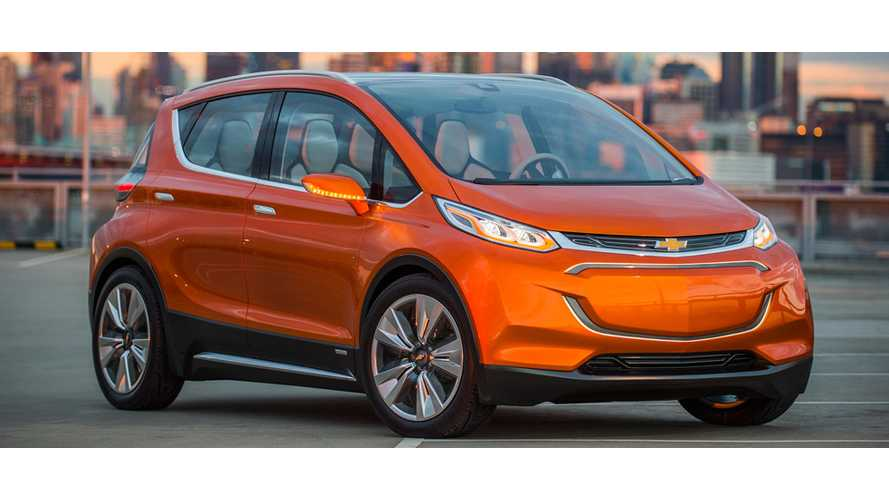 Chevrolet Bolt To Be Built In Michigan In October 2016, Opel