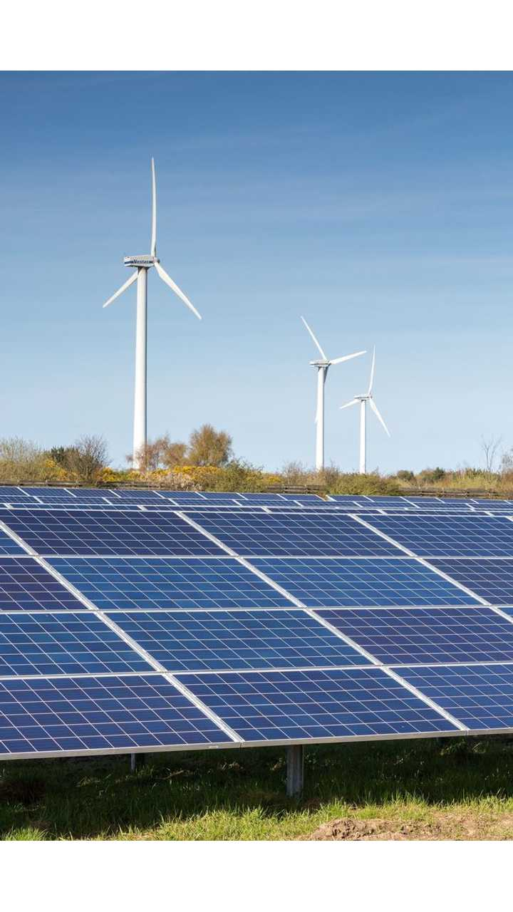 We Are Seeing Increased Growth Of Solar Fields And Wind Turbines In Many Areas
