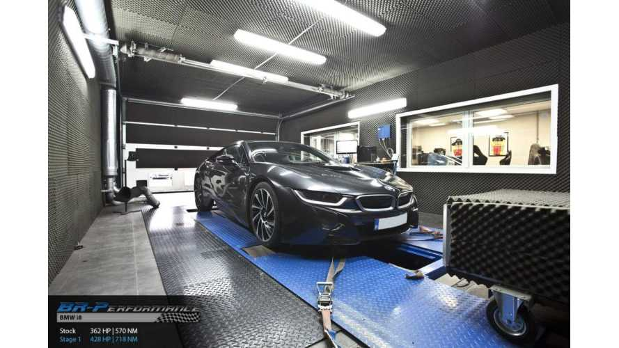 Tuned BMW i8 Cranks Out Over 400 Hp - Video