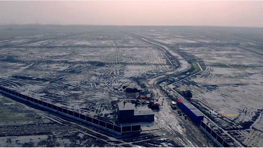 See New Video Of Tesla Gigafactory 3 Construction In China