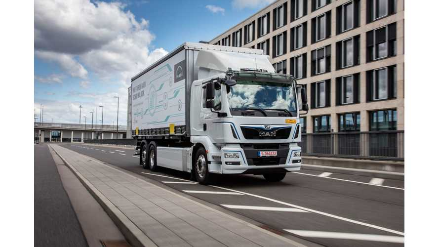 Porsche Turns To MAN For Electric Heavy-Duty Delivery Trucks