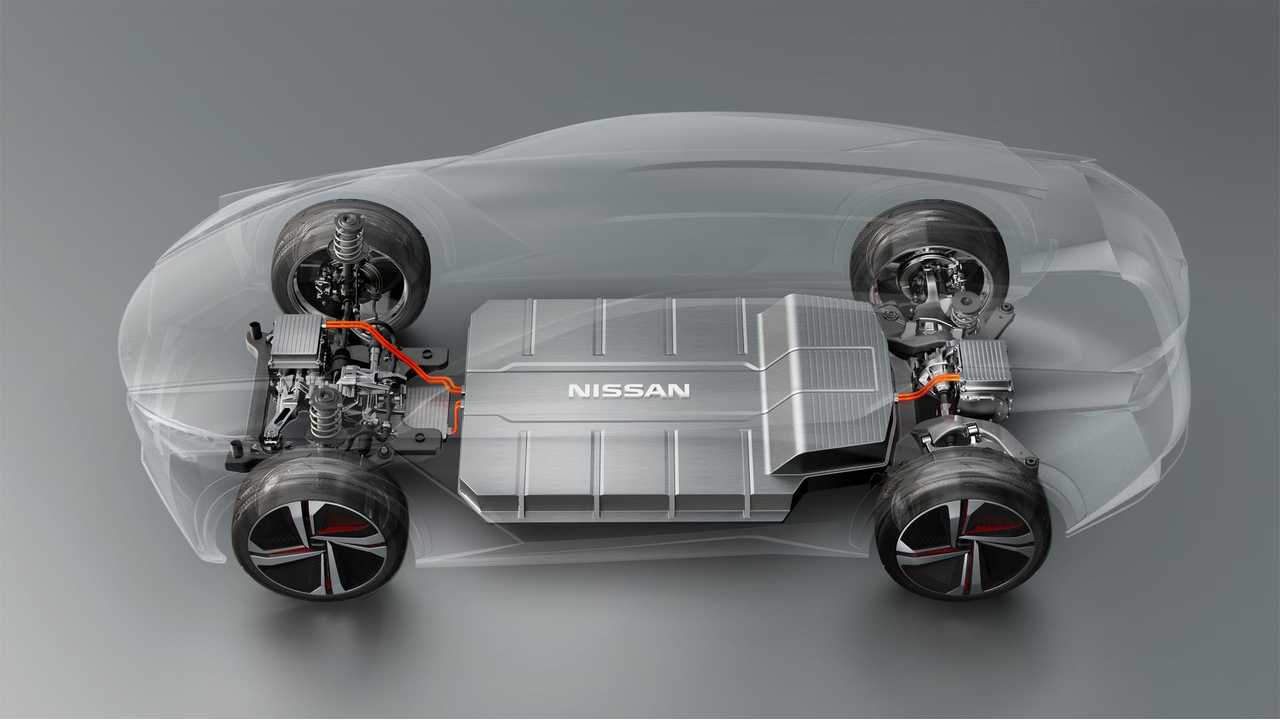 Nissan's New Electric Car Focus - Ample Interior Space, Skateboard Setup
