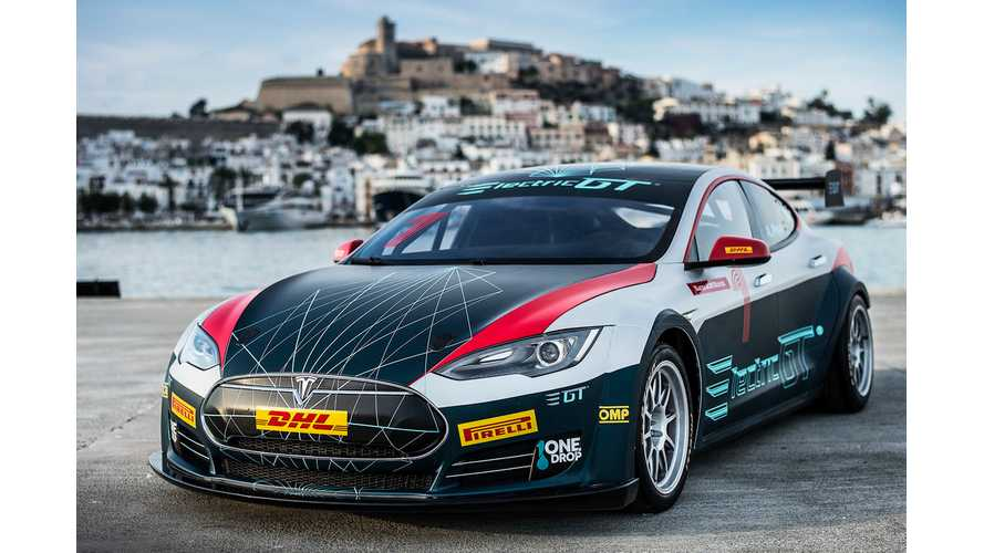 Leilani Münter Joins All Tesla Electric GT Racing Series