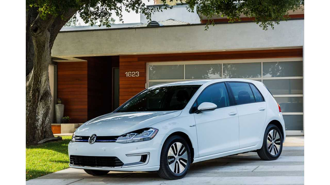 Detailed (City, Highway, Combined) EPA Ratings For New 2017 Volkswagen e-Golf -130.3 Miles City