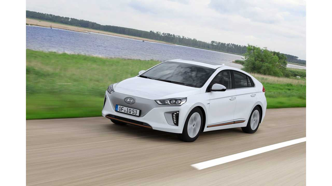 Hyundai IONIQ Electric Priced Aggressively From $29,500, 124 Miles Range