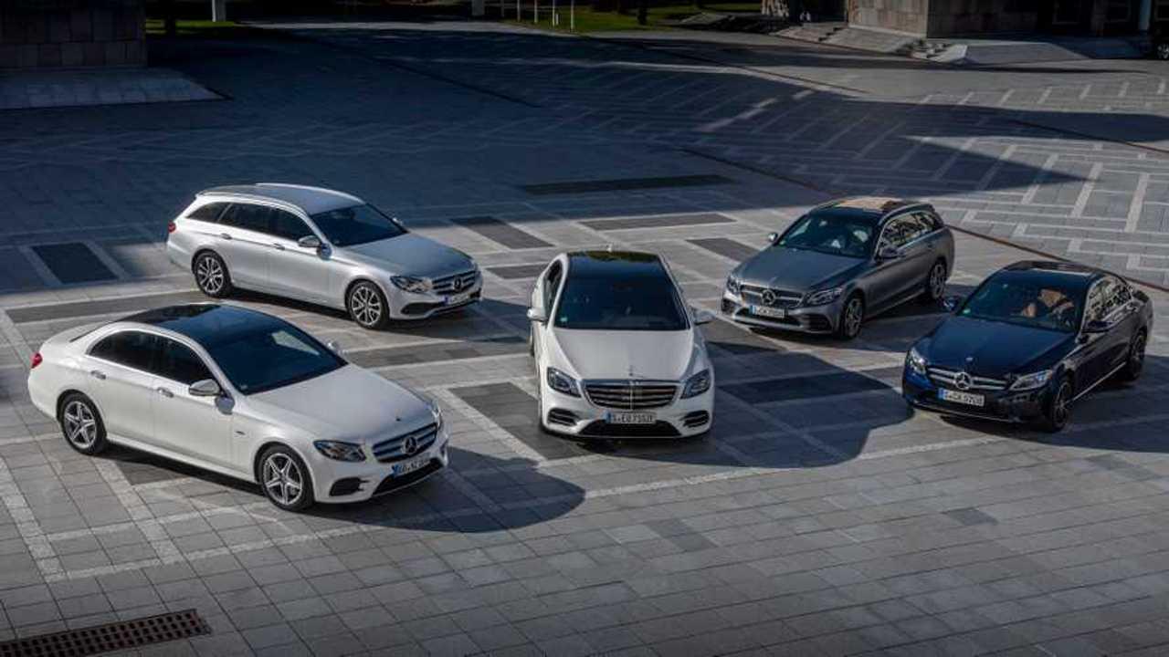 Comparison Of New Mercedes-Benz EQ Power Plug-In Hybrids