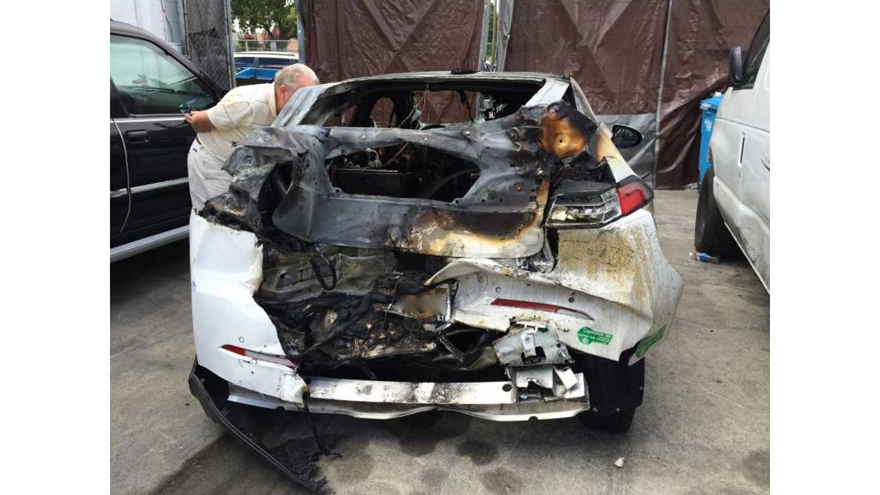 Old School Battery Tech Causes Chevrolet Volt Fire
