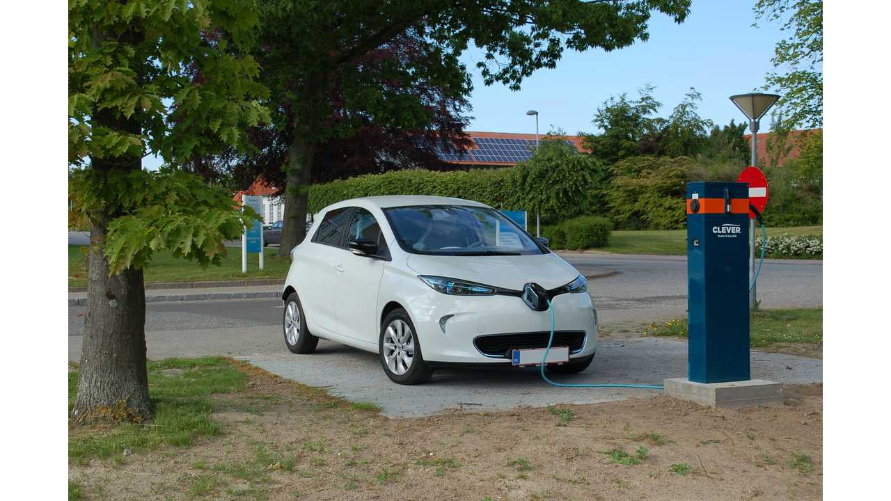 By End Of 2015, CLEVER Will Operate 543 Charging Points With 22 kW, 43 kW And 50 kW In Denmark