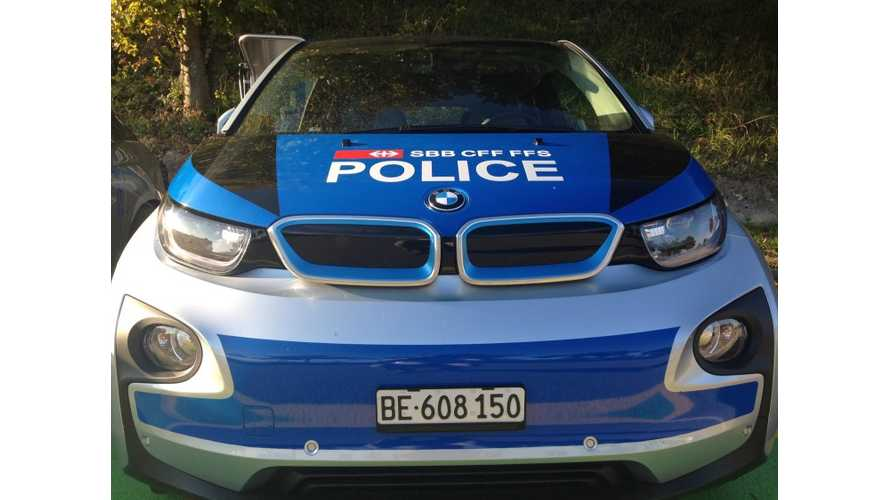 World's First BMW i3 Police Car?