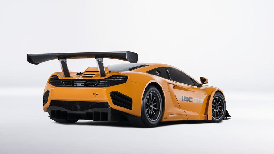 2013 McLaren MP4-12C GT3 revealed with minor updates