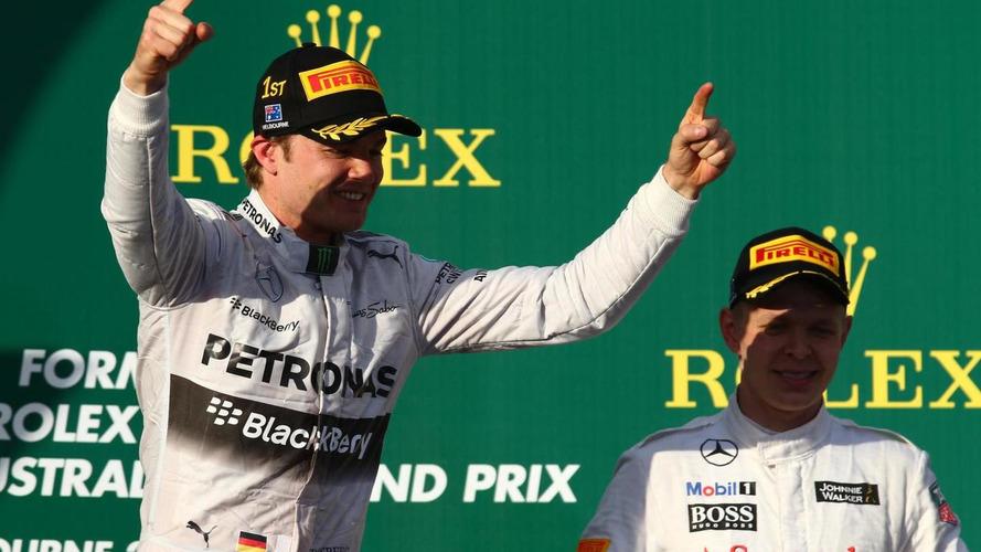Rosberg wins, Vettel & Hamilton retire in Aussie Grand prix opener