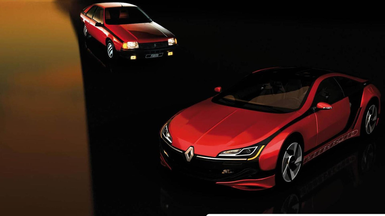 Renault Fuego del futuro, render