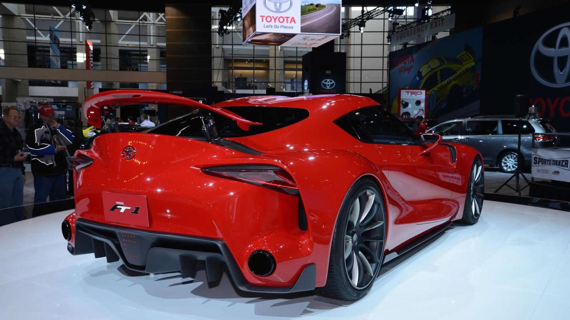 Toyota Ft 1 Concept Previews Next Supra Sub Gt86 Model In The Works