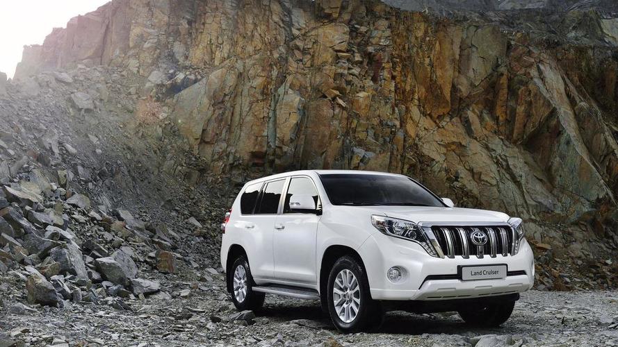 В России отзывают более тысячи свежих Toyota Land Cruiser Prado