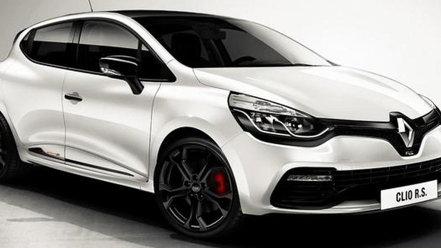 Renault Clio RS Monaco GP first official image surfaces