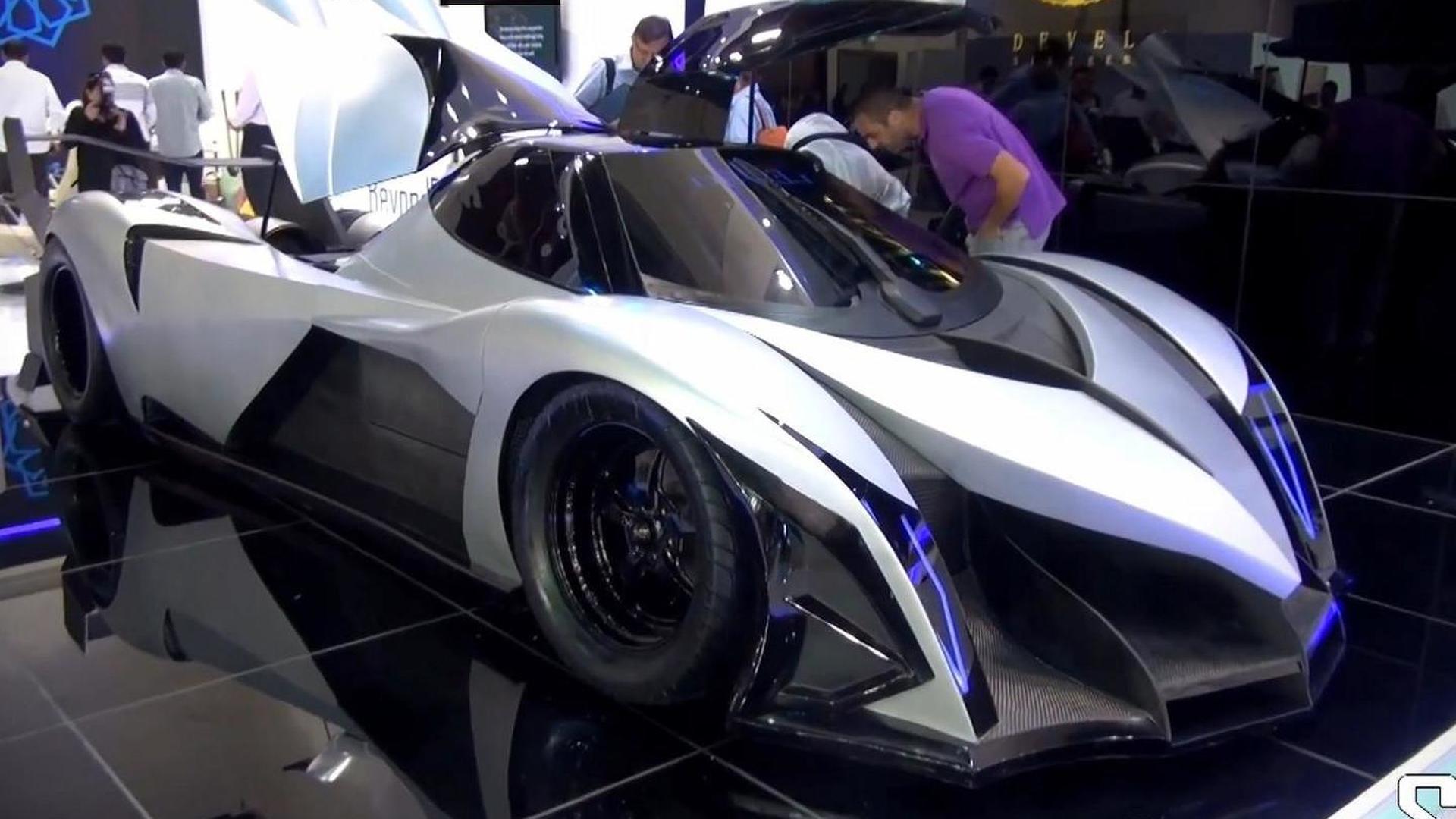 V Bhp Devel Sixteen Unveiled At Dubai Motor Show Is Probably - Car show dubai