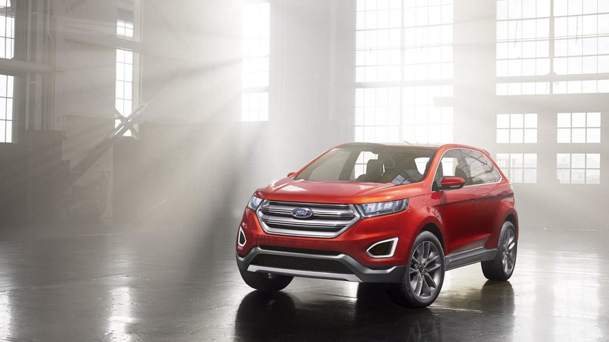 Ford Edge concept revealed, previews global large SUV [video]