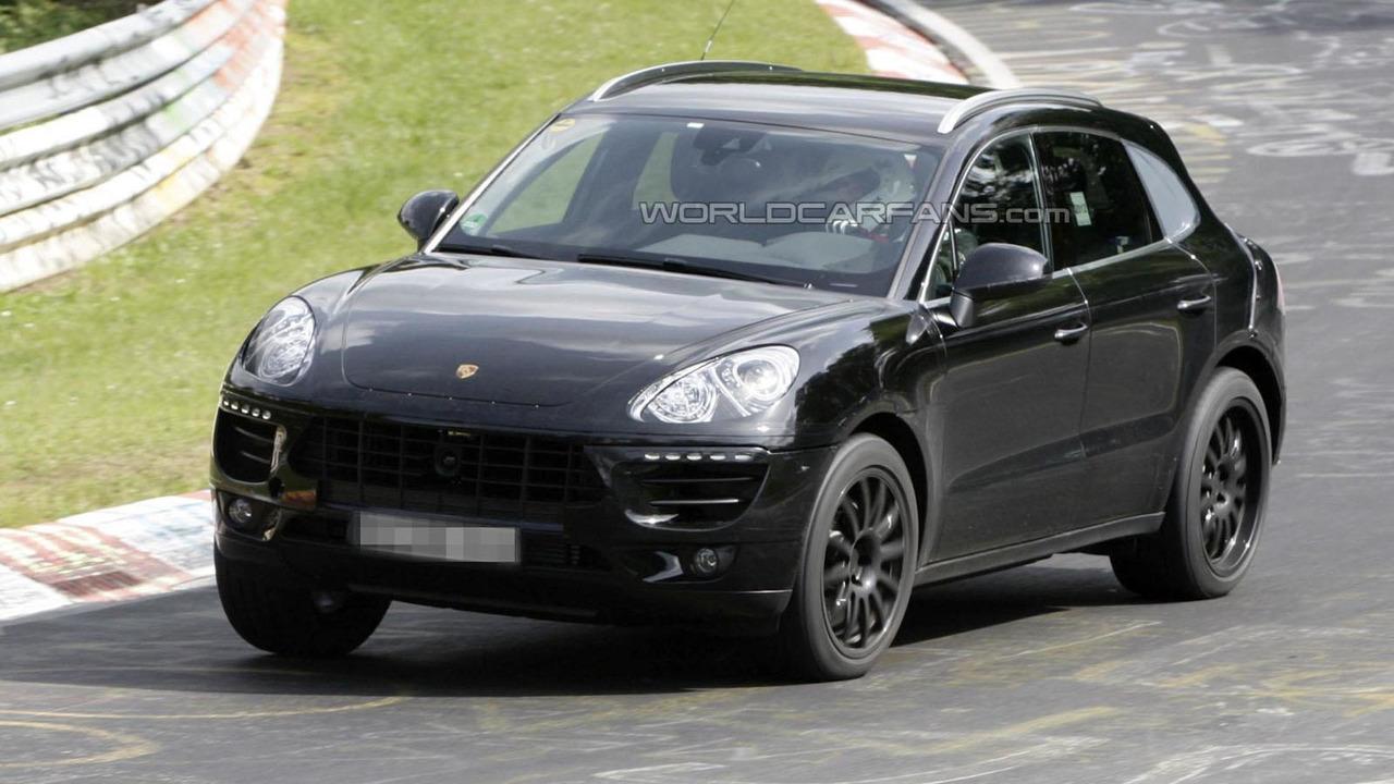 2014 Porsche Macan spy photo 12.6.2012