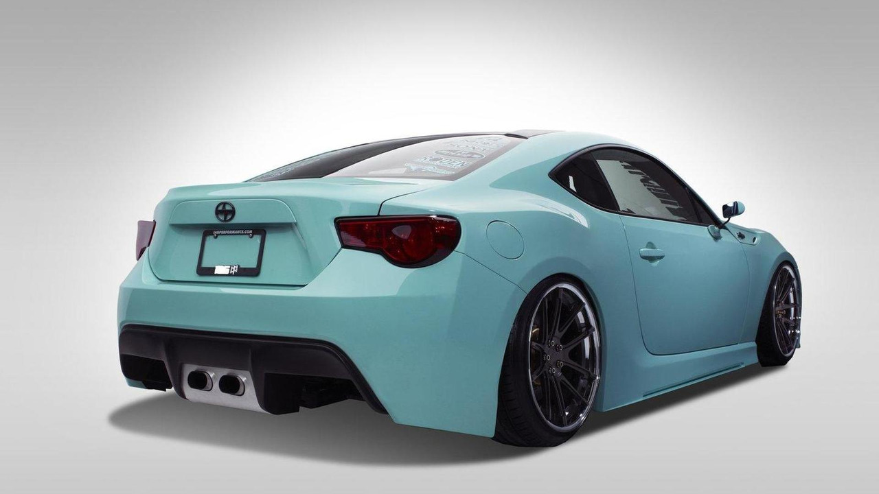 Scion FR-S Minty FReSh by Chris Basselgia 26.10.2012