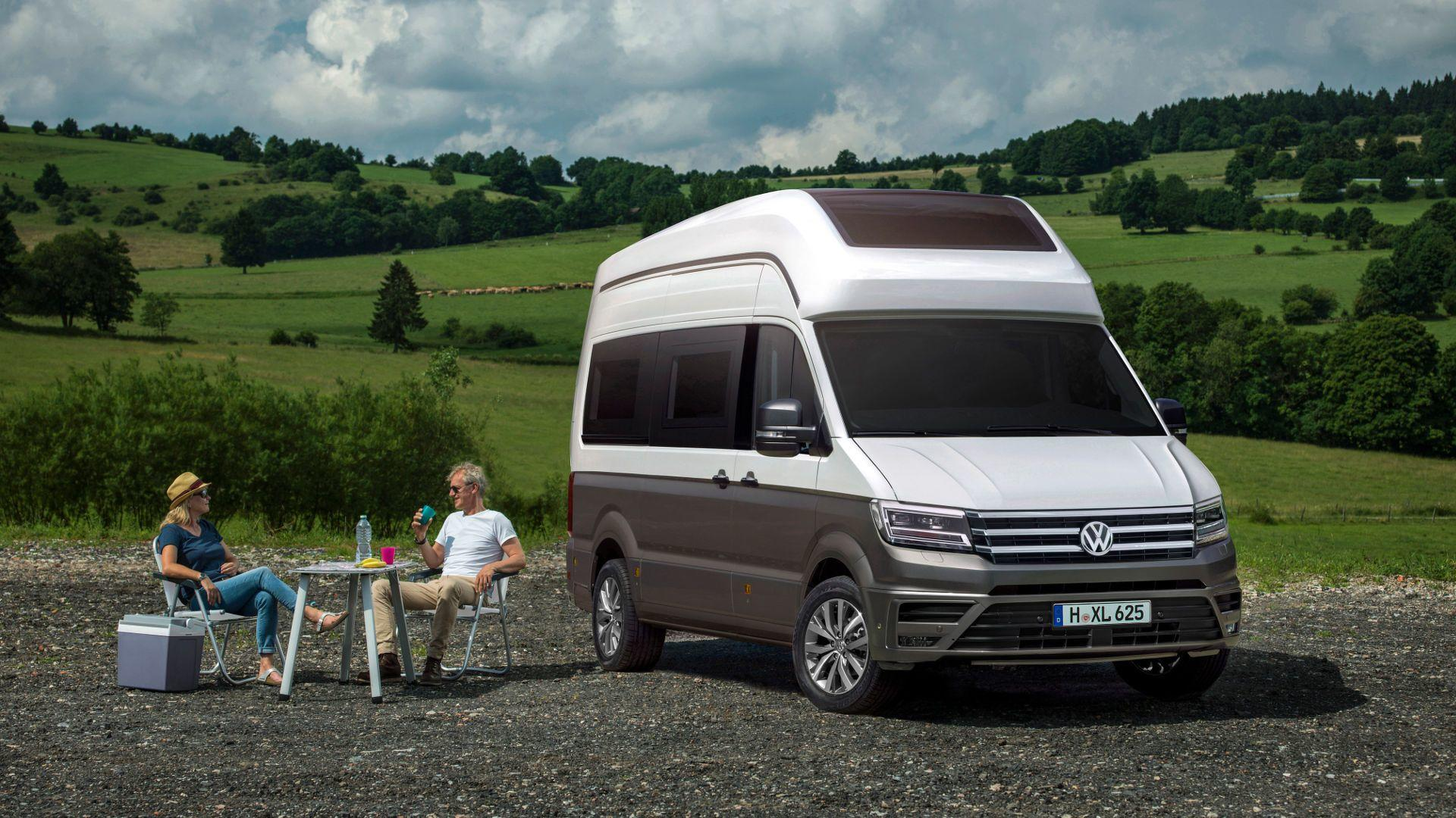 VW California Xxl >> Vw California Xxl Concept Is The Ultimate Crafter Motorhome