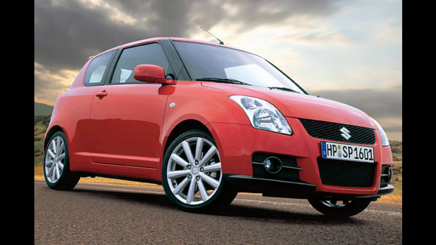 Suzuki Swift Sport: Kompakter Kurvenjäger mit 125 PS
