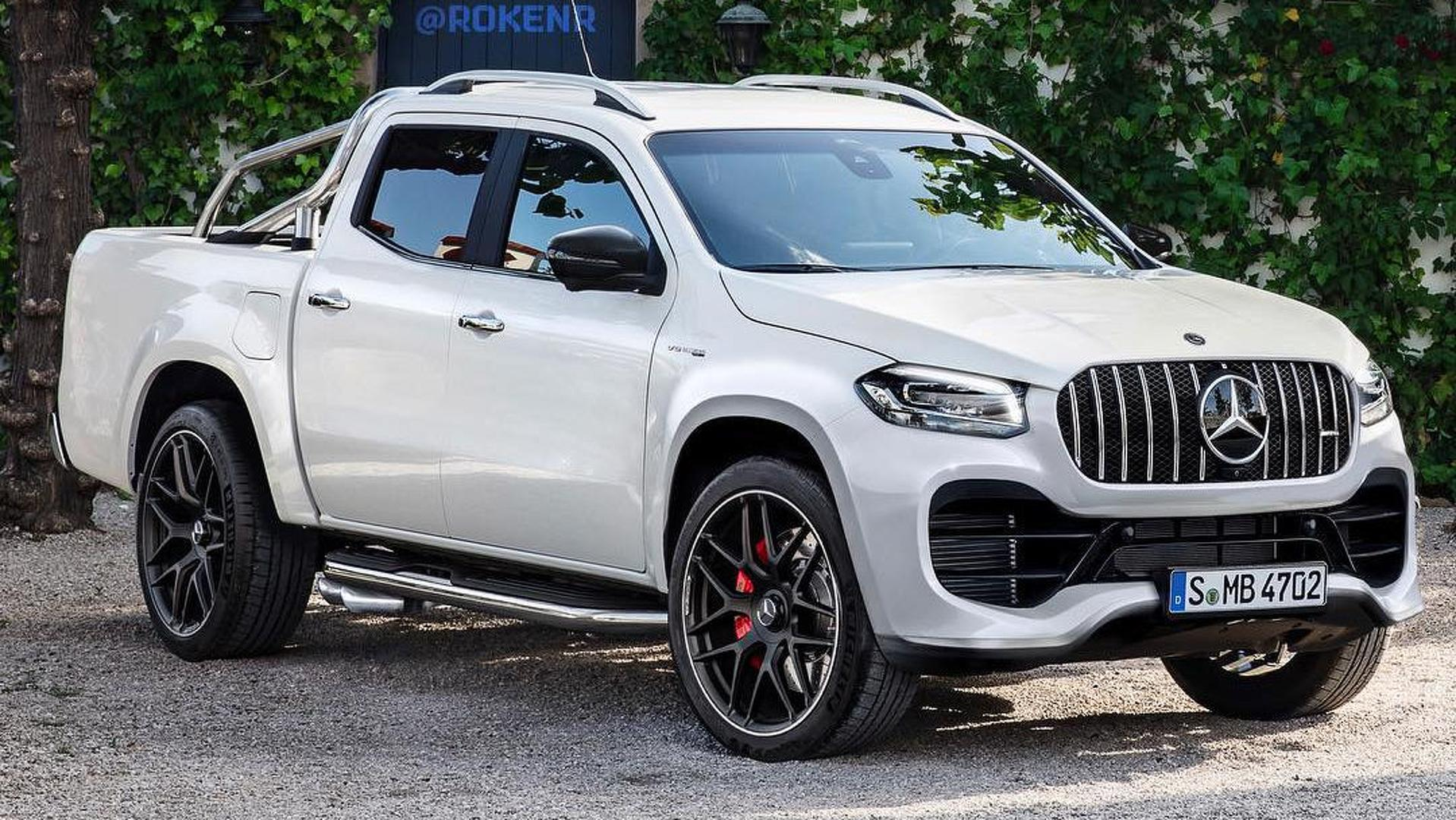 Mercedes Amg X63 Rendering Is So Bad It S Good