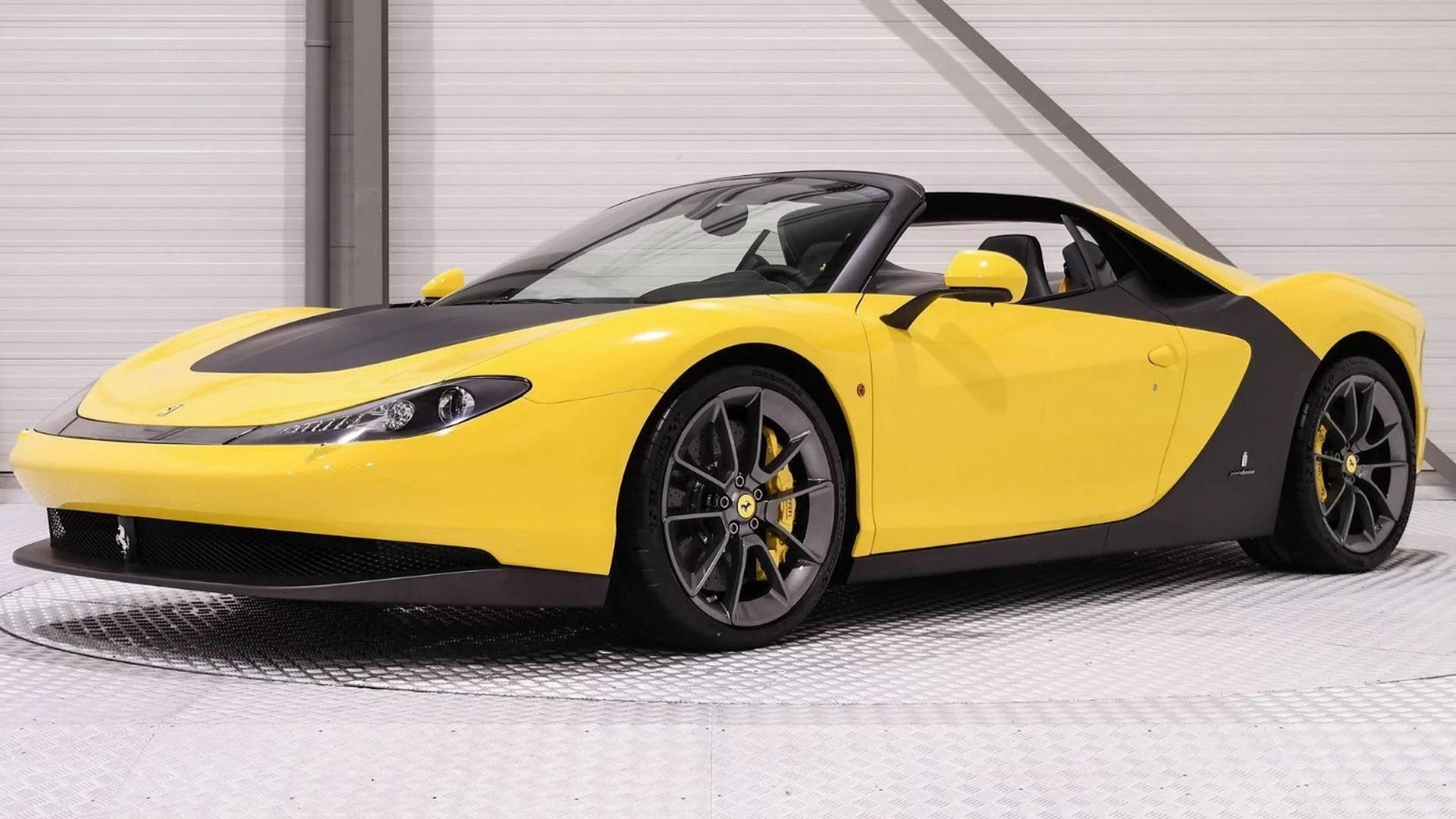 Rare Ferrari Sergio Costs An Unbelievable 5 Million