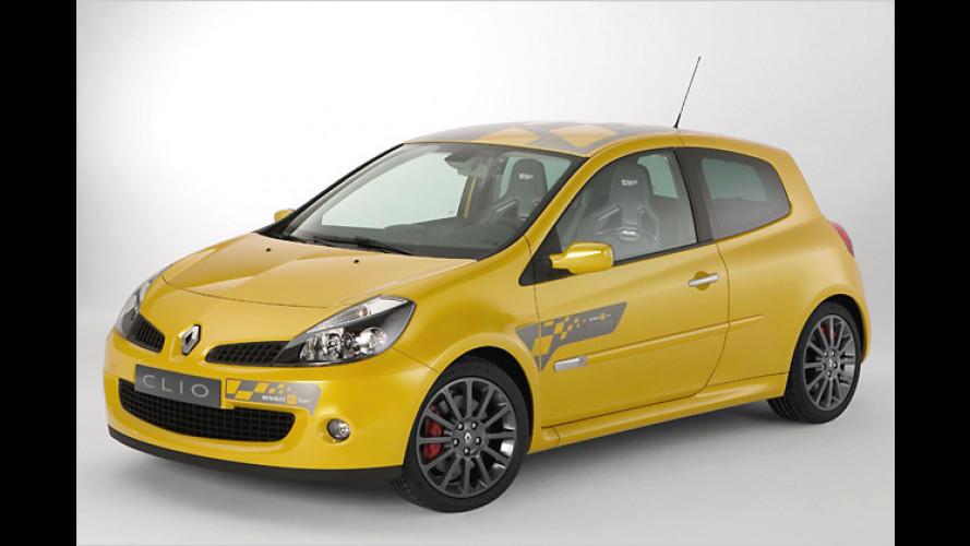Spezial-Clio Renault F1 Team R27: Bolide steht in Genf