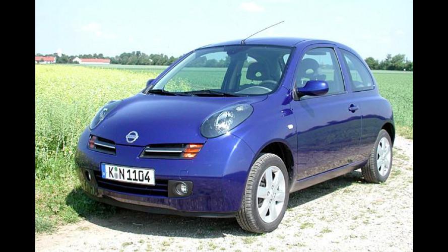 Nissan Micra Plus: Klimaanlage und CD-Radio obendrauf