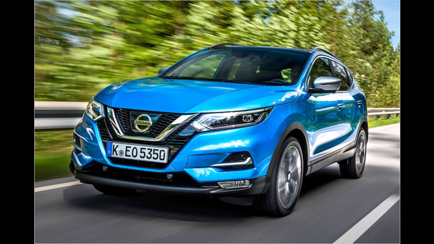 Nissan Qashqai Facelift (2017): Das kostet er