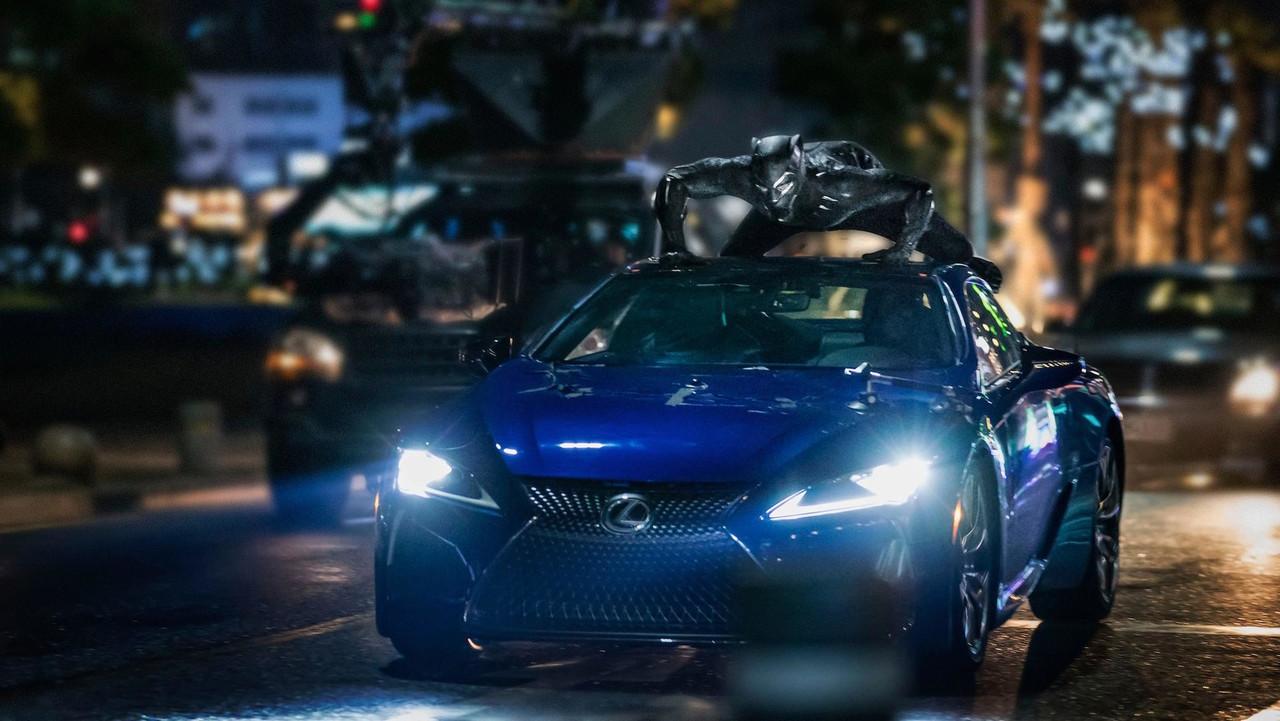 Lexus LC 500 Black Panther