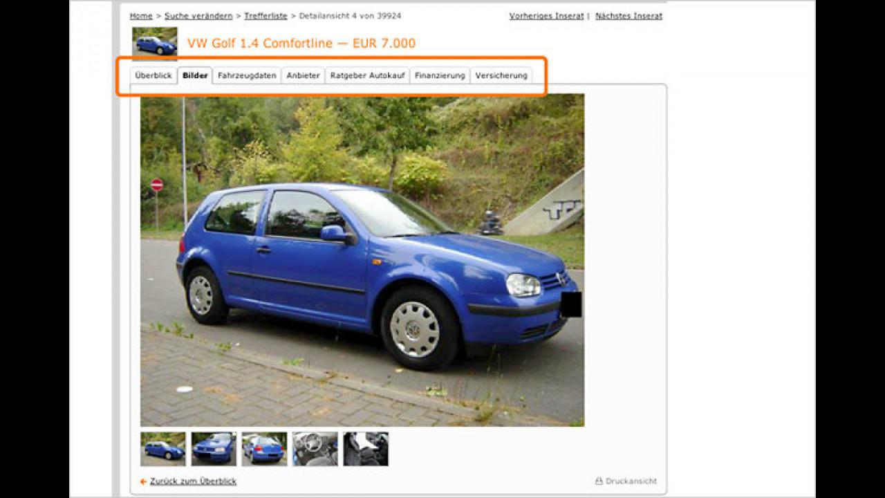 Mobilede Neues Design Motor1com Fotos