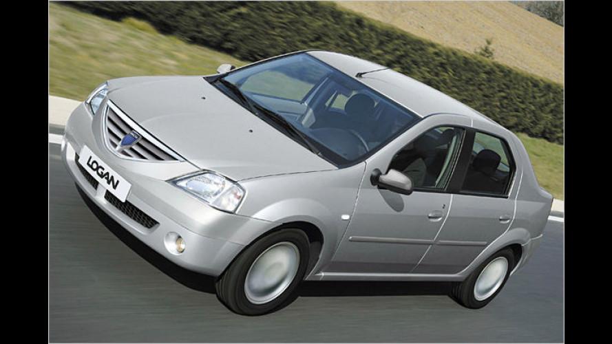 Frisch geschminkt: Dacia Logan hübsch gemacht