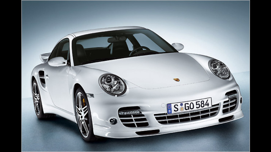 Feinschliff: Aerokit für das Porsche 911 Turbo Coupé