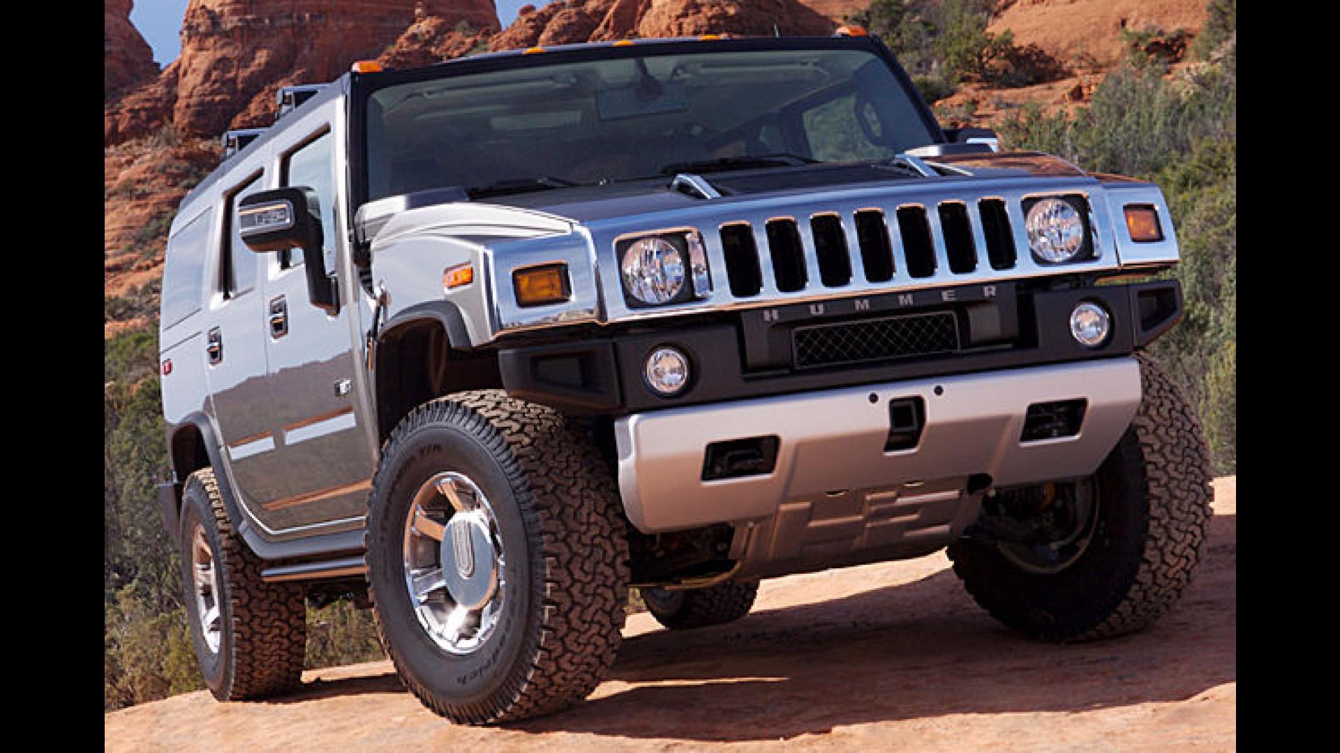 Hummer H14: Mit mehr Power ins neue Modelljahr | h2 hummer pictures