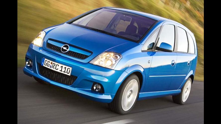 Opel Meriva OPC: Sport-Minivan als starkes Rezept für Essen