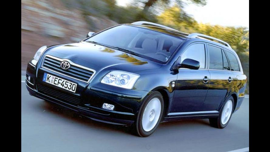 Toyota Avensis Combi: Geld sparen und edel reisen